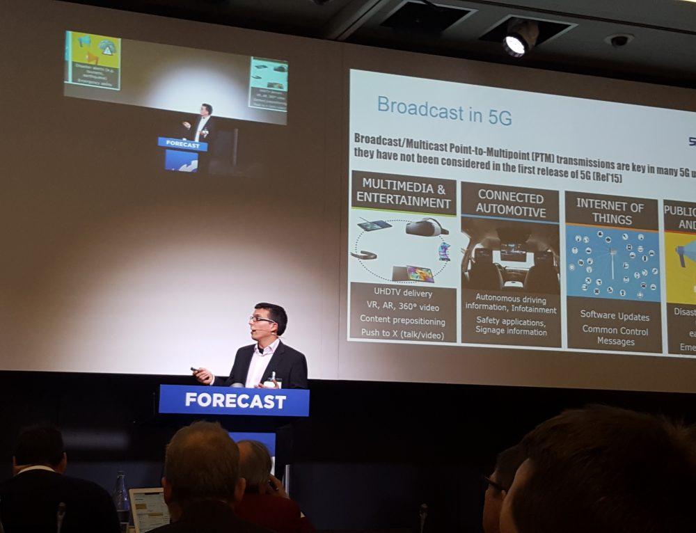 5G-Xcast at EBU Forecast 2017