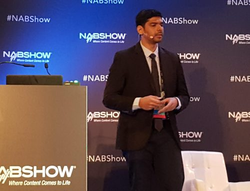 5G-Xcast TM presentation at the 2018 NAB show