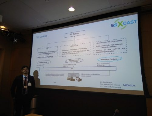 5G-Xcast presentation at the World Broadcasting Union-Internet Media Connectivity Group (WBU-IMCG)