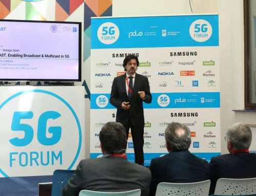 Prof. Narcis Cardona Presentation at the 5G Forum in Malaga