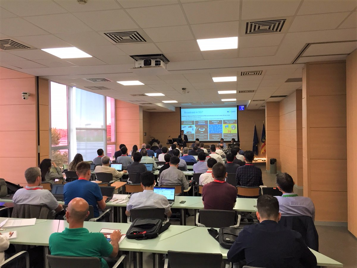 5G-Xcast participation at the IEEE BMSB 2018 – 5G-Xcast