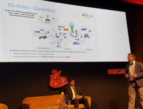 5G-Xcast participation at IBC 2018
