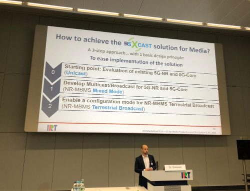 5G-Xcast participation at #5GMediaRoad2019