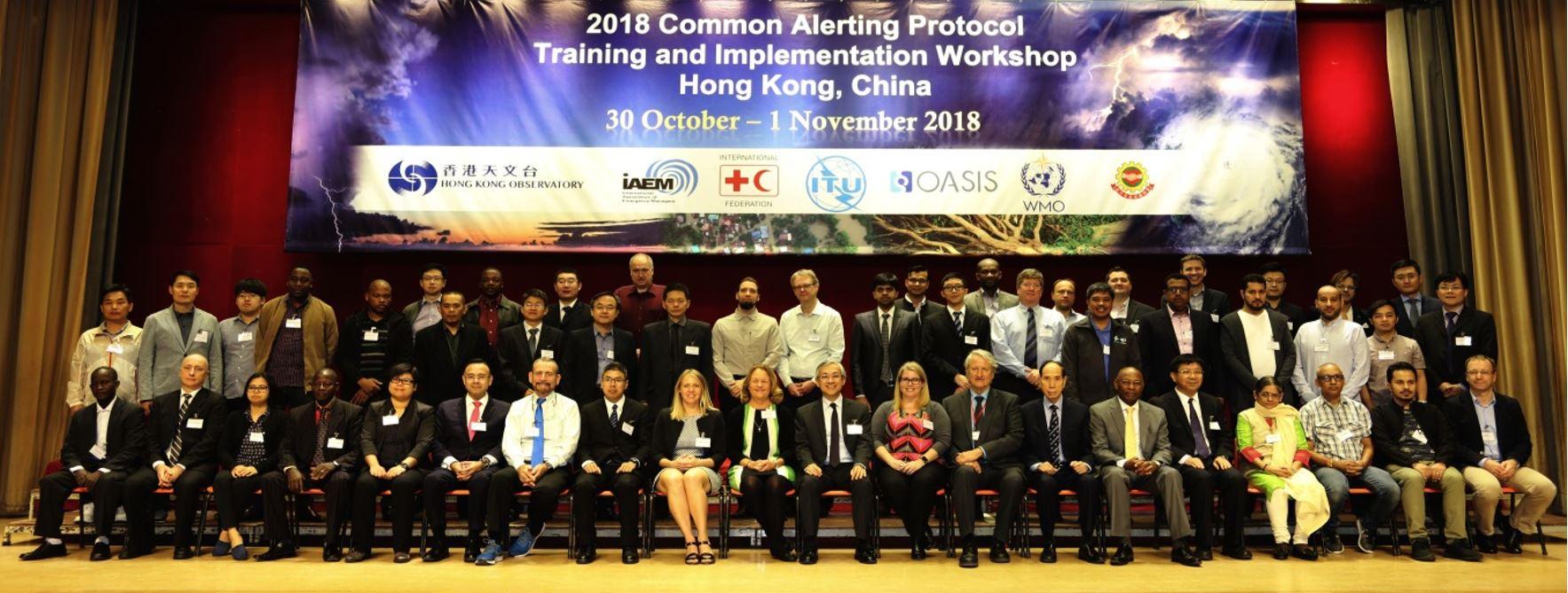 5G-Xcast participation at CAP Implementation Workshop 2018