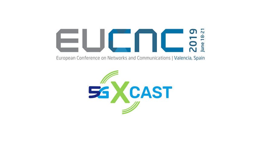 5G-Xcast Programme – EuCNC 2019