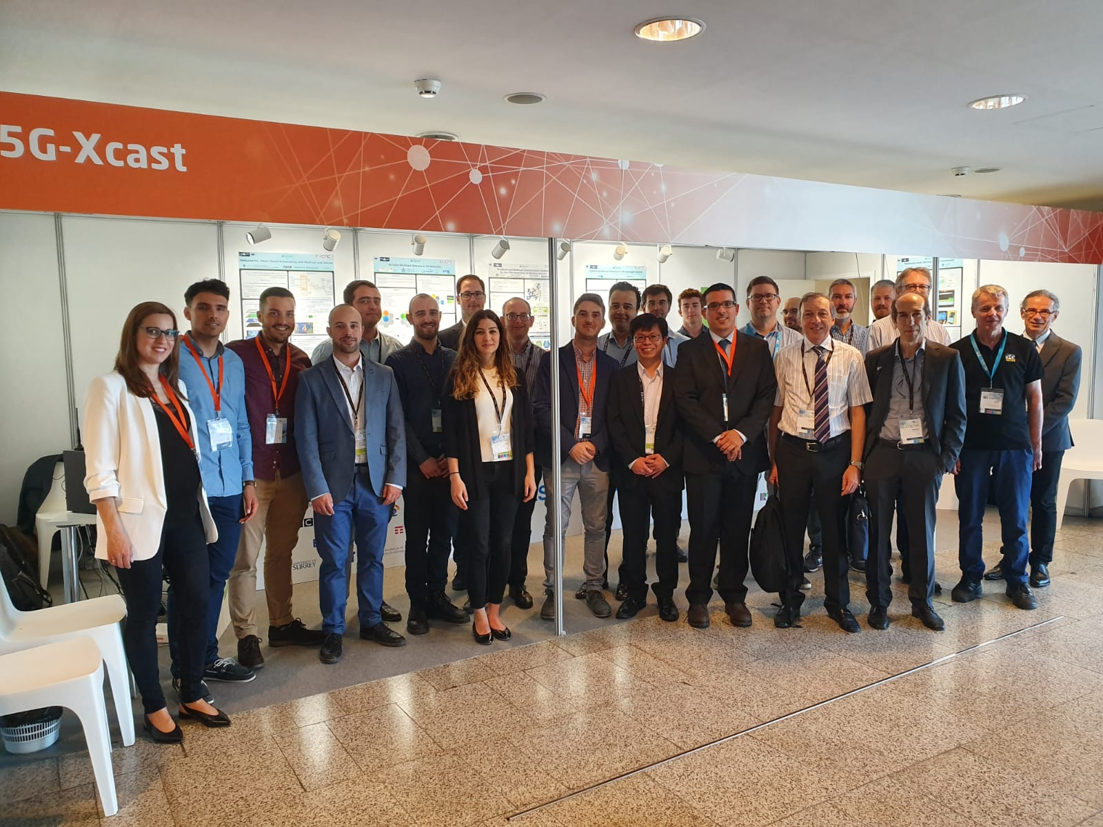 5G-Xcast participation at EUCNC 2019